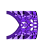 voronoi_arch.stl Télécharger fichier STL gratuit Arche de Voronoi • Plan pour impression 3D, Jeyill3