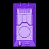 T-34-76 - hull_top.stl Télécharger fichier STL T-34/76 pour l'assemblage, avec voies mobiles • Objet pour imprimante 3D, c47
