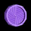 Grinder inferior rosca momia patrón.STL Télécharger fichier STL BROYEUR D'HERBE - DIY - MOMIE HALLOWEEN • Objet à imprimer en 3D, SnakeCreations