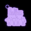 the_beatles.stl Télécharger fichier STL gratuit le porte-clés des Beatles • Modèle imprimable en 3D, shuranikishin