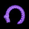 BrazaleteQetzalCoatlV2.stl Download free STL file Quetzalcoatl Bracelet • 3D printing design, Cilshell