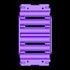 18650_2S3P_lid_V2_Vented.stl Télécharger fichier STL gratuit NESE, le module V2 sans soudure 18650 (VENTED) • Objet pour imprimante 3D, 18650
