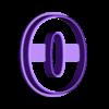 0.stl Télécharger fichier STL Numéros des moules à biscuits • Plan imprimable en 3D, Ushuaia3D