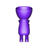 Vaso_5.stl Download free STL file JARRÓN MACETA ROBERT 05 - VASE FLOWERPOT ROBERT 05 • 3D printer design, PRODUSTL56