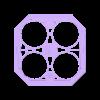 DronBox Plano v3 Superior.stl Download free STL file Drone Chassis 3 Inches • 3D printer template, Zero13
