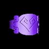 Ancestry3d_AztecHeart.stl Download free STL file Aztec Heart & Soul Ring • 3D printable design, Cilshell