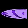 mount_3.stl Download free STL file Leading-Edge Slats for Horten Wing Stiletto • 3D printer model, wersy
