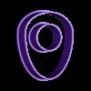 EGGcutterSmallYelk.stl Download free STL file Egg w/ Yelk Cookie Cutter • 3D printing design, Gophy