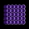 Marker-Rack-Prismacolor-25-Aligned-Flat.stl Télécharger fichier STL gratuit Porte-repères Prismacolor • Objet imprimable en 3D, Reneton