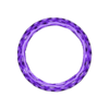 convexBracelet_-_Voronoi_B.stl Download free STL file Bracelet - Voronoi Style • 3D print model, Numbmond
