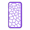 SGS_NOTE_II_RUBBER_CASE_VORONOI.stl Download free STL file Samsung Galaxy Note II Coque Élastique • 3D printable template, Ignacio
