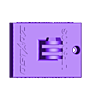 qstarz_gopro_mount2_v3.stl Download free STL file QSTARZ LT-6000 to GoPro Mounting Plate • 3D printable template, helmuteder