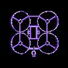 copter_v3_big_03_cam_09_slicr.stl Télécharger fichier STL gratuit Micro cadre semi-dirigé (Beecheese Frame V3) (montage sur came intégré) • Design pour imprimante 3D, noctaro