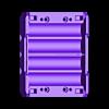 18650_2S2P_base.stl Télécharger fichier STL gratuit NESE, le module V2 sans soudure 18650 (FERMÉ) • Objet pour imprimante 3D, 18650