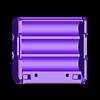 18650_3P_base_V2.stl Télécharger fichier STL gratuit NESE, le module V2 sans soudure 18650 (FERMÉ) • Objet pour imprimante 3D, 18650