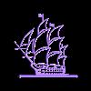 barco modelo 3d  silueta.STL Download free STL file boat model 3d silhouette • 3D printing template, Abayarde