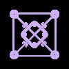 """GRIFF_V3.1_110x.stl Télécharger fichier STL gratuit GR1FF V3 Cadre 2.5"""" - Moteurs 070x & 110x • Modèle pour impression 3D, Gophy"""