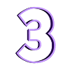 3.STL Télécharger fichier STL gratuit Lot de 10 moules à biscuits numérotés • Design à imprimer en 3D, icepro10