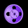 poulie_degau_lurem.stl Télécharger fichier STL gratuit poulie degau • Design pour impression 3D, jpgillot2