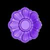 rosette5-1.STL Download 3MF file Rosette plaster molding N01 3D print model • 3D printable model, RachidSW