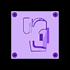 MK23_PISTOL_WALL_MOUNT_BODY.STL Download STL file MK23 PISTOL AND MAGAZINE WALL MOUNT • Template to 3D print, SANCAKTAR