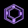 Hexagondonut_30mm_S.stl Download STL file Polymer Clay Earring Cutter Dangle Set Batch 4 • 3D print design, josephco3637