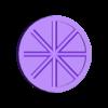 krazkiS2_promienie.stl Download free STL file Tactile discs game (series 2) • Model to 3D print, Ogrod3d