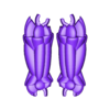 6__legs.stl Télécharger fichier STL gratuit Robot articulé personnalisable • Plan pour impression 3D, LittleTup