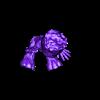 baby_groot_sit_hollow_2-bg.stl Télécharger fichier STL gratuit baby groot led light v4 • Modèle pour impression 3D, veganagev