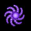 Octopus_v5.5_spiral.stl Télécharger fichier STL gratuit Jolie pieuvre miniature • Modèle pour imprimante 3D, jaumecomasfez