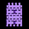 T-34-76 - tracks_NARROW_x4.stl Télécharger fichier STL T-34/76 pour l'assemblage, avec voies mobiles • Objet pour imprimante 3D, c47