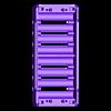 18650_2S4P_base_V2_Vented.stl Télécharger fichier STL gratuit NESE, le module V2 sans soudure 18650 (VENTED) • Objet pour imprimante 3D, 18650