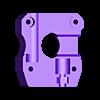 Base_1.stl Télécharger fichier STL gratuit Amélioration de l'extrudeuse Velleman vertex3d K8400 - pointe bowden • Modèle pour impression 3D, cyrus