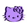 HK_Bowl_V2.stl Télécharger fichier STL gratuit Bol Hello Kitty • Design imprimable en 3D, shawnrchq
