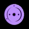 spool_clock_pulley_big.stl Télécharger fichier STL gratuit Horloge à bobine à filament • Design pour imprimante 3D, marigu