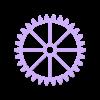 Wall Gears V2 Large Gear.stl Download STL file Wall Gears V2  • 3D print template, SPEKERDUDE