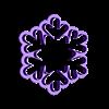 Copo de nieve 7cm.stl Download STL file Snowflake cutter set • 3D printing object, juanchininaiara