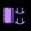 Bear_Crib.stl Download free STL file Dollhouse Rocking Cradle/Crib • 3D printing model, virtuous70