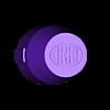 Arri-B-cap-v1c inset logo (50mm deep).stl Download STL file Arri-S & Arri-B rear lens cap • 3D printer model, vintage-lens