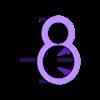ah.stl Télécharger fichier STL gratuit germe d'avocat • Plan pour imprimante 3D, veganagev