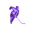 onetimer.obj Download OBJ file ULTIMATE HOCKEY POSES PACK MODEL NO TEXTURE 3D Model Collection • 3D printing template, NightCreativity