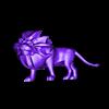 Lion_whole.stl Download free STL file Majestic Lion • 3D print template, mooses