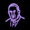 PapaFWall.stl Descargar archivo STL PapaFrancisco Wall • Plan imprimible en 3D, miguelonmex