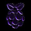 RaspberryLogo_fixed.stl Download free STL file Raspberry Pi Logo - Fixed • Design to 3D print, Lammesky