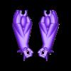 5_Large_Hands.stl Télécharger fichier STL gratuit Robot articulé personnalisable • Plan pour impression 3D, LittleTup