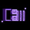 2Color_Outside.stl Download free STL file Analog Calendar • 3D print model, Jeyill3