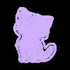 GATO FELIZ.stl Télécharger fichier STL L'emporte-pièce Happy Cat • Modèle imprimable en 3D, carloseduardoalfonsogarcia