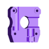 Base_2.stl Télécharger fichier STL gratuit Amélioration de l'extrudeuse Velleman vertex3d K8400 - pointe bowden • Modèle pour impression 3D, cyrus