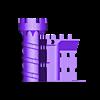 Castle_Bottom_Back_Left.stl Download free STL file Castle Dedede - Amiibo Prop • 3D printable object, ChrisBobo