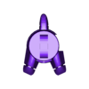 16- G1 ALLICON- right Foot.stl Download STL file Transformers G1 Allicon (11cm Scale) • 3D print object, mmshightail